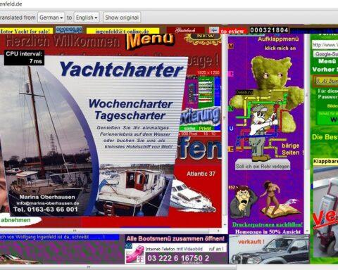 Un brutto sito web